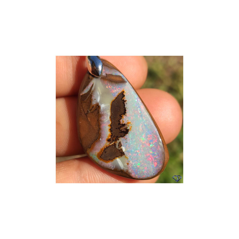 Pendentif Opale Boulder
