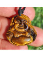 Pendentif Bouddha Œil de tigre